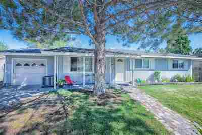 Carson City Single Family Home Price Reduced: 708 Jackson Way