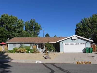 Carson City Single Family Home Price Reduced: 3200 Dilday Drive