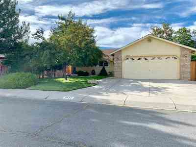 Carson City Single Family Home Active/Pending-Loan: 2432 Scotch Pine Drive