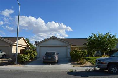 Fernley Single Family Home For Sale: 1505 Wrangler