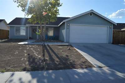 Fernley Single Family Home Active/Pending-Loan: 536 Dutch Oven Court
