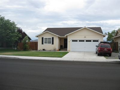 Fernley Single Family Home For Sale: 256 Emigrant Way