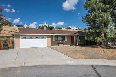 Carson City Single Family Home Active/Pending-Loan: 3562 Onyx Crt