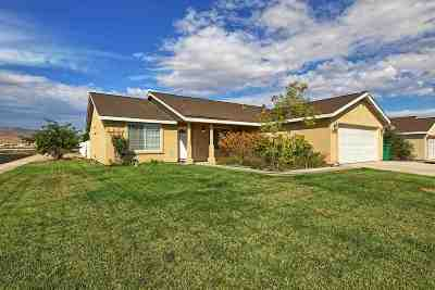 Fernley Single Family Home For Sale: 1340 White Bluffs Circle