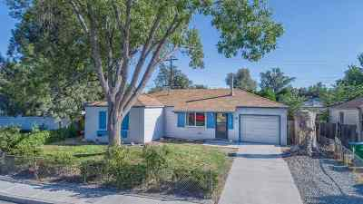 Sparks Single Family Home For Sale: 105 P St