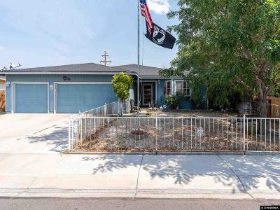 Fernley Single Family Home For Sale: 788 Canary Circle