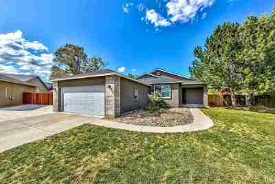 Carson City Single Family Home Active/Pending-House: 3572 Overlook