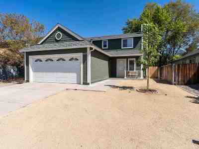 Carson City Single Family Home For Sale: 2675 Pinebrook Dr