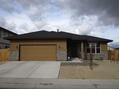 Fernley Single Family Home New: 148 Relief Springs