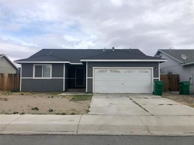 Fernley Single Family Home New: 212 Emigrant Way