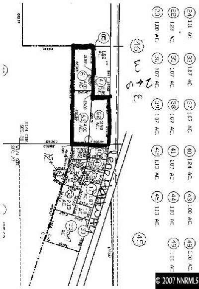 Fallon Residential Lots & Land Extended: Theelan Way
