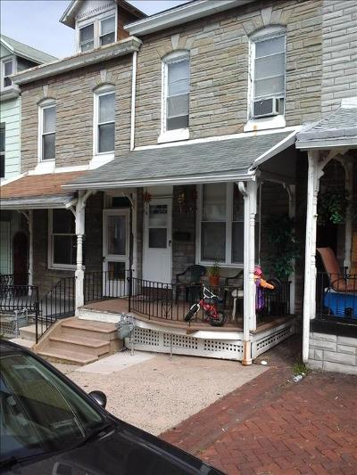 Reading PA Townhouse For Sale: $59,900