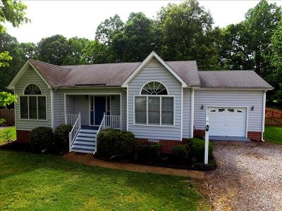 Chesterfield VA Single Family Home Sold: $199,950