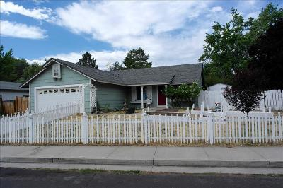 Reno NV Single Family Home For Sale: $280,000