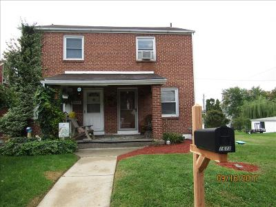 Reading PA Single Family Home For Sale: $100,000