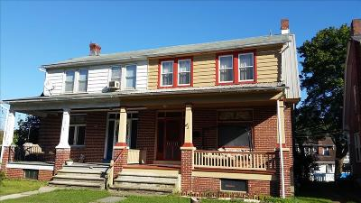 Reading PA Single Family Home For Sale: $95,000