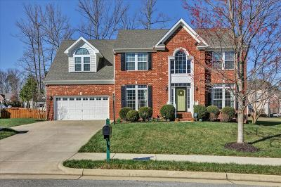 North Chesterfield VA Single Family Home For Sale: $315,000