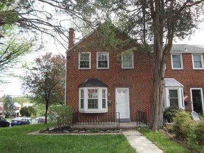 Towson MD Townhouse Pending: $224,900