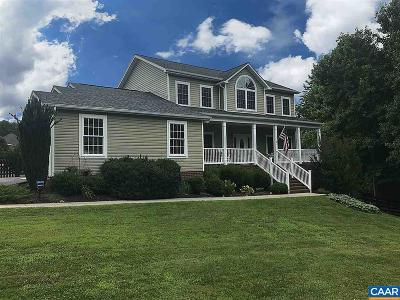 Keswick VA Single Family Home For Sale: $329,900