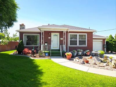Single Family Home For Sale: 441 W Wasatch
