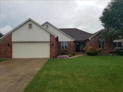 Avon IN Single Family Home For Sale: $219,900
