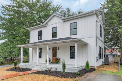 Charlottesville VA Single Family Home Contingent: $449,900