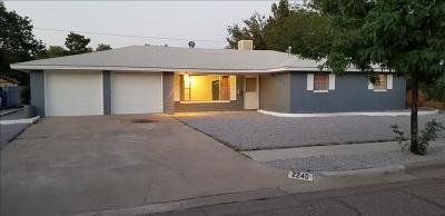 Las Cruces NM Single Family Home For Sale: $179,900