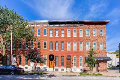 Townhouse For Sale: 1534 N. Caroline Street