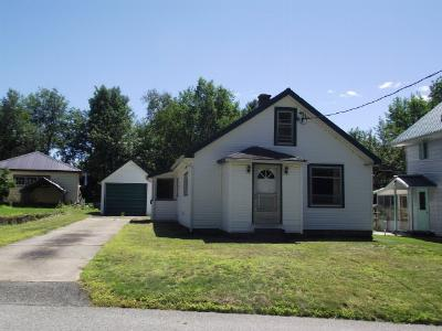 Saranac Lake NY Single Family Home For Sale: $89,500