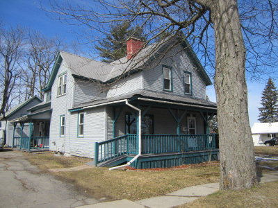 Malone NY Multi Family Home For Sale: $71,500