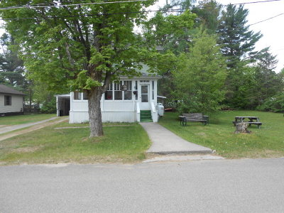 Tupper Lake NY Single Family Home For Sale: $110,000