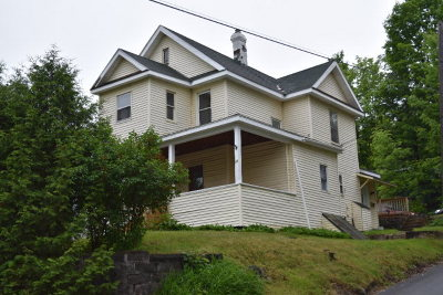 Saranac Lake NY Multi Family Home For Sale: $110,000