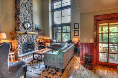 Lake Placid Condo/Townhouse For Sale: 16 Rustic Way, Unit #3