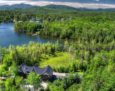 Lake Placid, Saranac Lake, Tupper Lake Single Family Home For Sale: 132 Peninsula Way