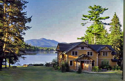 Lake Placid, Saranac Lake, Tupper Lake Single Family Home For Sale: 180/190 Mirror Lake Drive