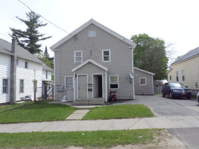 Malone NY Multi Family Home For Sale: $89,900
