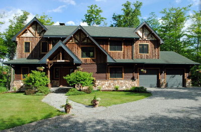 Lake Placid, Saranac Lake, Tupper Lake Single Family Home For Sale: 12 Overlook Way