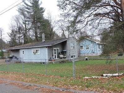 Tupper Lake NY Single Family Home For Sale: $66,500