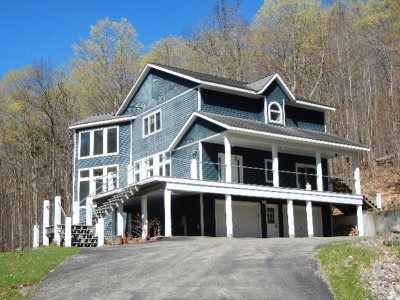 Saranac Lake Single Family Home For Sale: 89 Dewey Mountain Rd