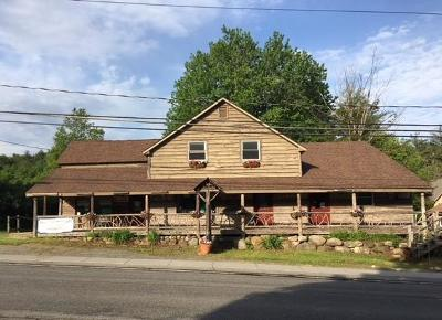 Essex County, Franklin County Commercial For Sale: 10897 Nys Route 9n