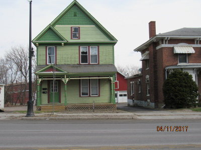 Malone NY Multi Family Home For Sale: $64,900