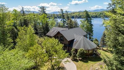 Lake Placid, Saranac Lake, Tupper Lake Single Family Home For Sale: 254 West Shore Road