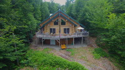 Colton, Cranberry Lake, South Colton, Wanakena Single Family Home For Sale: 23 Howland Rd.