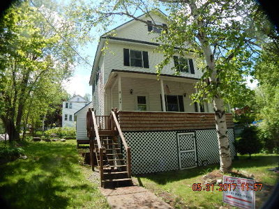 Saranac Lake NY Single Family Home For Sale: $104,900
