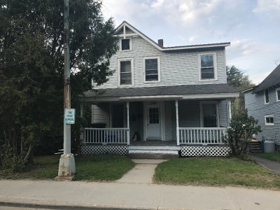 Saranac Lake NY Multi Family Home For Sale: $145,000