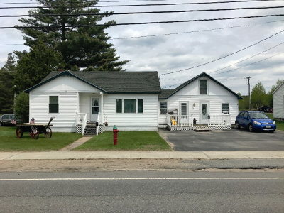 Tupper Lake NY Single Family Home For Sale: $187,500