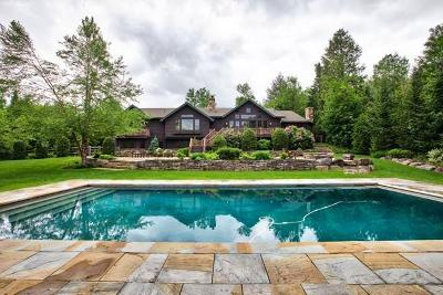 Lake Placid NY Single Family Home For Sale: $3,850,000
