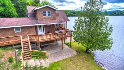Saranac Lake Single Family Home For Sale: 221 Riverside Drive