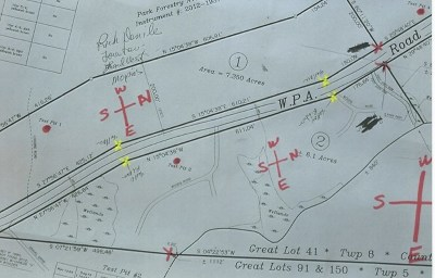 Franklin County Residential Lots & Land For Sale: Lot 01 Lake Road
