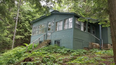 Colton, Cranberry Lake, South Colton, Wanakena Single Family Home For Sale: 279 S. Shore Rd.